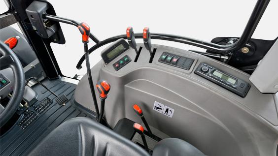 Lovol Traktor M504 Bedienelemente