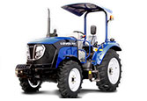 Lovol Traktor M504 mit Bügel freigestellt