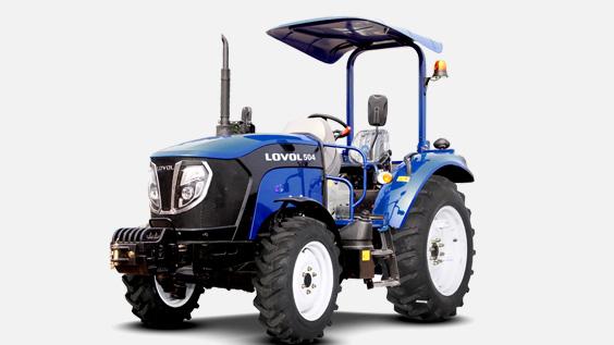 Lovol Traktor M504 Bügel freigestellt