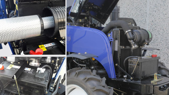 Lovol Traktor Motorzugang