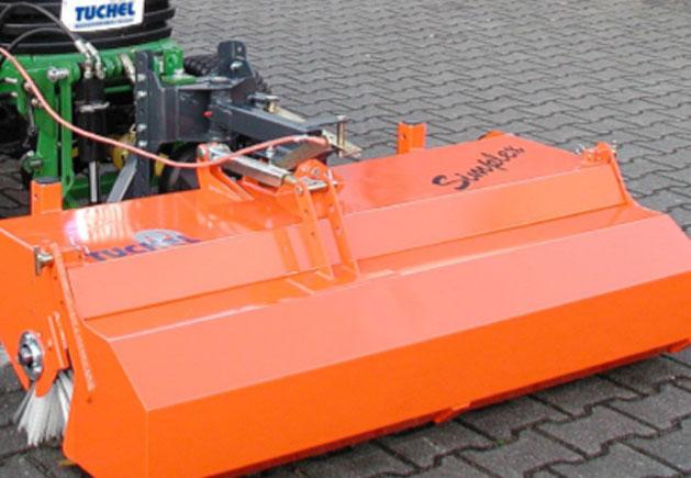 Front-Kehrmaschine Simplex